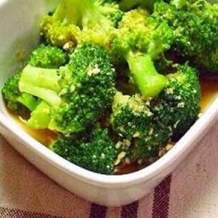 簡単!ブロッコリーの和風サラダ