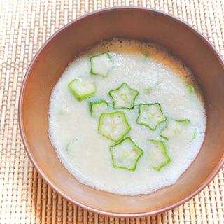 簡単♪胃に優しいオクラと長芋のとろろ汁