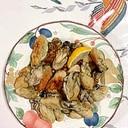 牡蠣の炒め物~♪