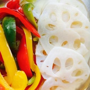 野菜を食す‼︎れんこんの甘酢漬け