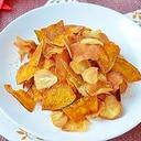 にんにくと秋の野菜チップス