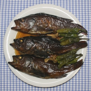 簡単☆美味しい☆メバルの干物で煮付け