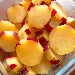 甘×甘♡簡単!さつまいものりんごジュース煮