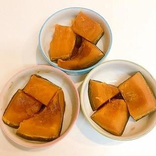 誰でも簡単に出来ます♪かぼちゃの麺つゆ煮
