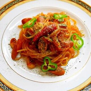 昔懐かしの味+アルファ!スパゲッティ・ナポリタン