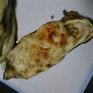 器まで食べれる‼丸ごとなすのチーズ焼き