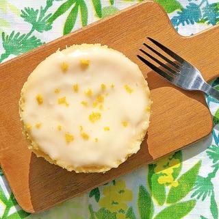 電子レンジ2分の爽やか糖質オフレモンケーキ