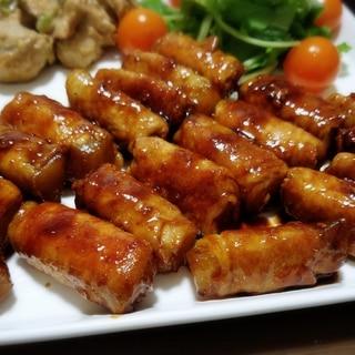 焼き肉のタレで簡単!! ヤーコンの肉巻き★