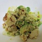 簡単 アボカドと豆腐の和え物