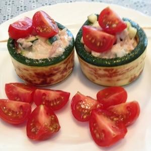 簡単なのに!豪華★ズッキーニのカラフル前菜サラダ
