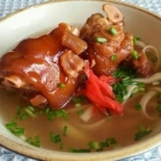 沖縄そばの麺の打ち方