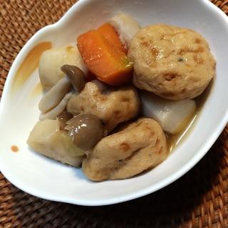 めんつゆで簡単☆がんもと里芋の煮物