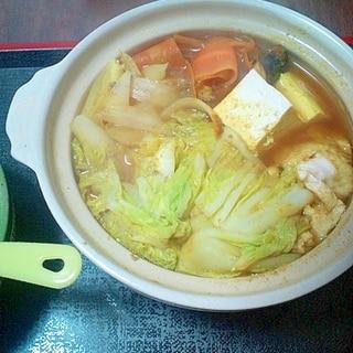 ひとり鍋ダイエット第4弾!~カレー鍋~
