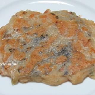 パリッとモッチリな海苔チーズイン米粉焼き 1310