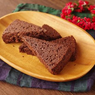 アーモンドとココアの簡単♪香ばしバタークッキー