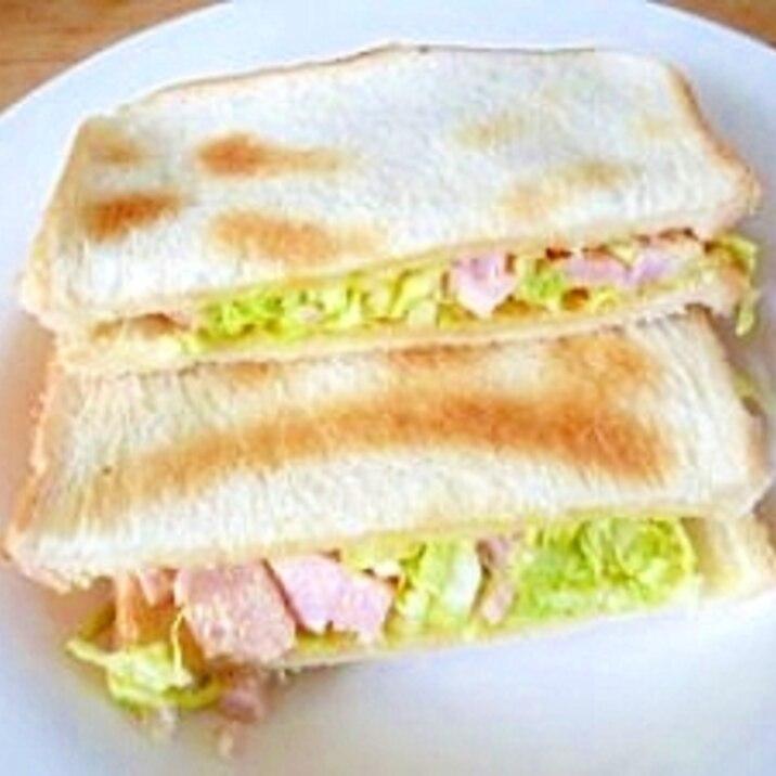 ハムサラダ・トーストサンド