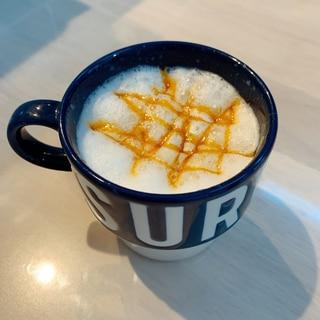 バリスタで簡単♡カフェ風キャラメルマキアート