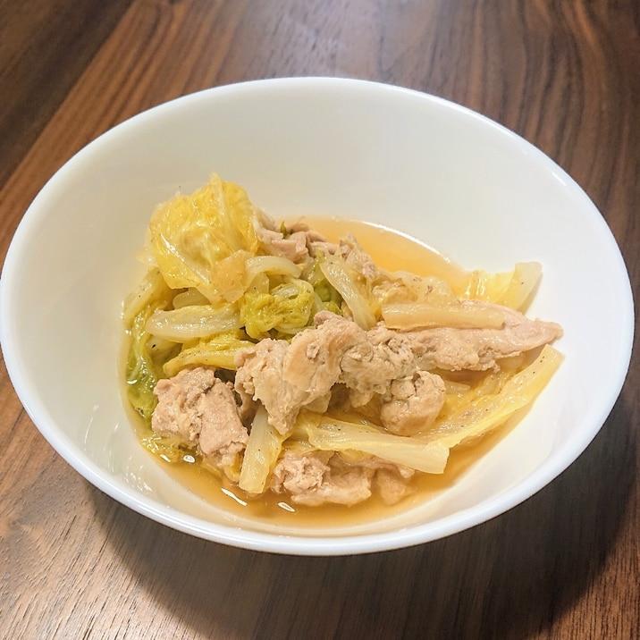 簡単!豚バラ白菜煮