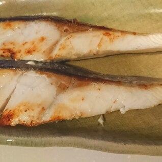 ヒラマサの塩焼き