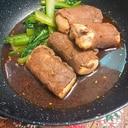 焼肉のたれで★牛肉巻き豆腐 おつまみ等に