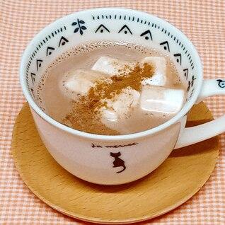 豆乳ココア◇マシュマロとシナモンのせ◇