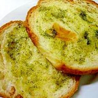 緑茶トースト