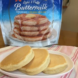 卵・牛乳不要☆コストコふわもちパンケーキ