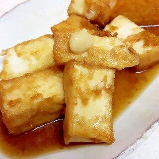 生姜シロップで(^^)子供が喜ぶ厚揚げの生姜焼き♪