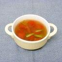 ミニトマトとにんにくの芽のスープ