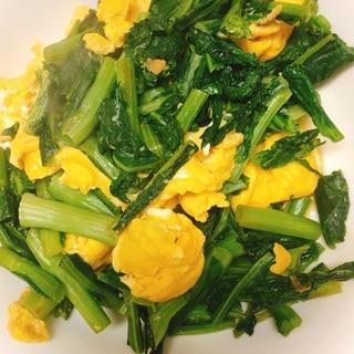 材料2つで♪春色♪菜の花の卵炒め