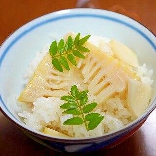 白だしで簡単。たけのこご飯の作り方