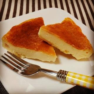 水切りヨーグルトでチーズケーキもどき