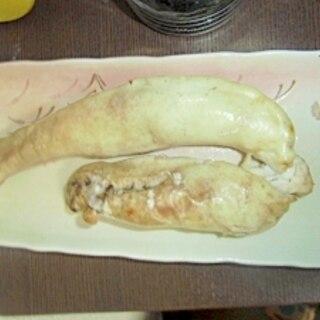 鮭の白子焼き