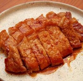 豚ロースの甘辛照り焼き