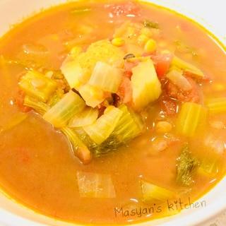 モロッコ料理 レンズ豆のリハーラ