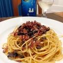 ワインに日本酒に、香茸のラグーソース