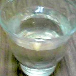 焼酎の梅ジュース割