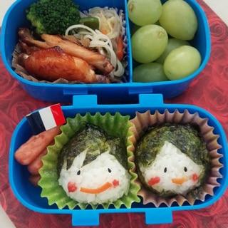 遠足やピクニックにかわいいおにぎり!!