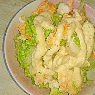 パパッとあと一品‼白菜とたまごのタルタルサラダ