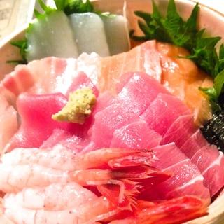 酢飯の黄金比!海鮮丼♪