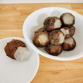 里芋のシンプルで美味しい食べ方✧