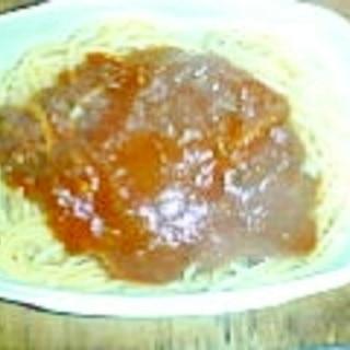 ひき肉スパゲティ