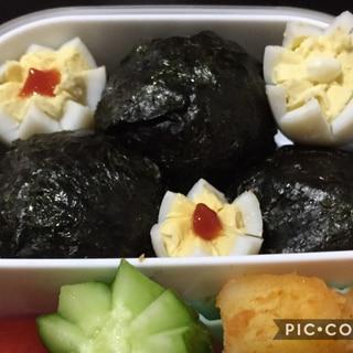 子供のお弁当に♪うずら卵のお花飾り切り☆
