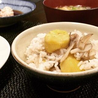 秋の味覚❤️舞茸と栗の炊き込みご飯