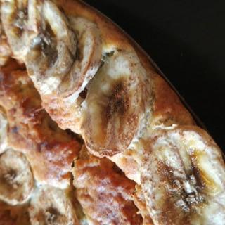バター小麦粉無し!もっちり豆乳バナナケーキ