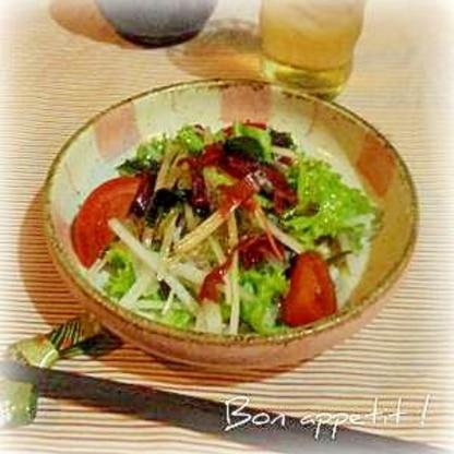 ☆★大根と海草のサラダ♪ゆずポンドレッシング★☆