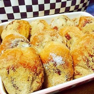 市販のロールパンで給食の揚げパン