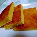 簡単★オーブントースターでアーモンドプードルケーキ