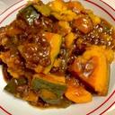 簡単☆かぼちゃと小豆のいとこ煮