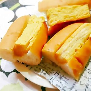 時短スナックランチ☆ふわふわ卵焼きサンド